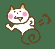 CAT STAMP sticker #187336