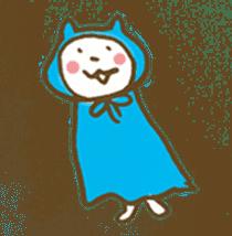 CAT STAMP sticker #187338