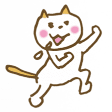 CAT STAMP sticker #187341