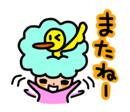Day-to-day of Afro-chan sticker #187378