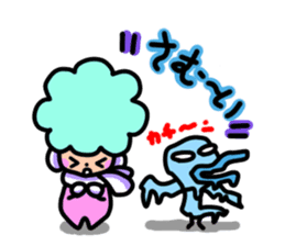 Day-to-day of Afro-chan sticker #187384