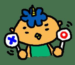 "Cheep-cheep""ONITAROU"" sticker #187604"