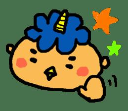 "Cheep-cheep""ONITAROU"" sticker #187608"