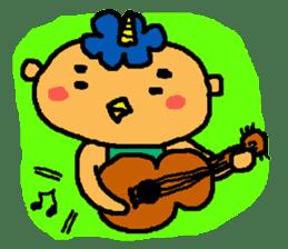 "Cheep-cheep""ONITAROU"" sticker #187613"