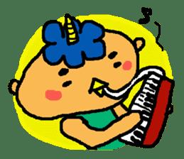 "Cheep-cheep""ONITAROU"" sticker #187614"