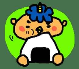 "Cheep-cheep""ONITAROU"" sticker #187615"