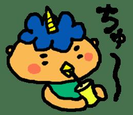 "Cheep-cheep""ONITAROU"" sticker #187616"
