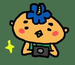 "Cheep-cheep""ONITAROU"" sticker #187621"