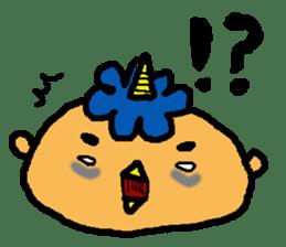 "Cheep-cheep""ONITAROU"" sticker #187629"