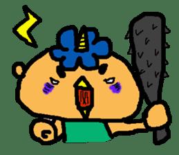 "Cheep-cheep""ONITAROU"" sticker #187630"