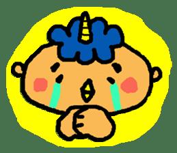 "Cheep-cheep""ONITAROU"" sticker #187633"