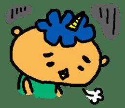 "Cheep-cheep""ONITAROU"" sticker #187637"