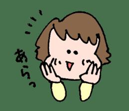 EASY-GOING GIRL sticker #188052