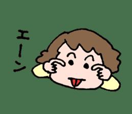 EASY-GOING GIRL sticker #188064