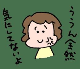EASY-GOING GIRL sticker #188071
