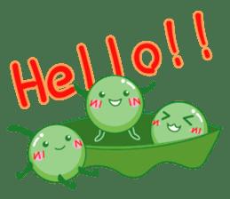Mametaro of beans sticker #188161