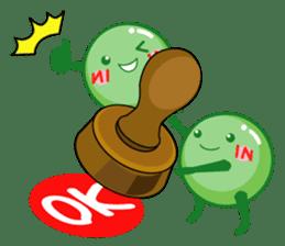 Mametaro of beans sticker #188166