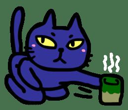 Black Cat sticker #188379