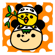 สติ๊กเกอร์ไลน์ headdress.panda