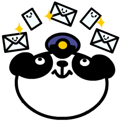 Mailman of the panda