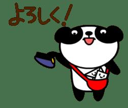 Mailman of the panda sticker #190145