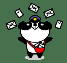 Mailman of the panda sticker #190146