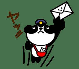 Mailman of the panda sticker #190149