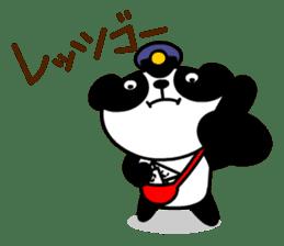 Mailman of the panda sticker #190151
