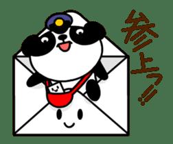 Mailman of the panda sticker #190153