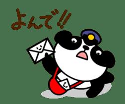 Mailman of the panda sticker #190156