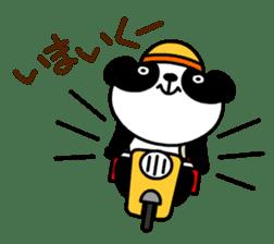 Mailman of the panda sticker #190157