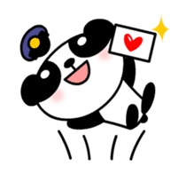 Mailman of the panda sticker #190163