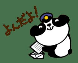 Mailman of the panda sticker #190164