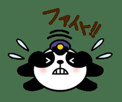 Mailman of the panda sticker #190168