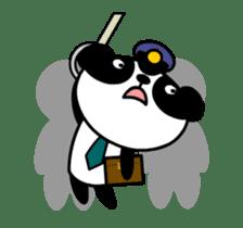 Mailman of the panda sticker #190171