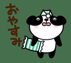 Mailman of the panda sticker #190174