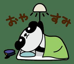 Mailman of the panda sticker #190175