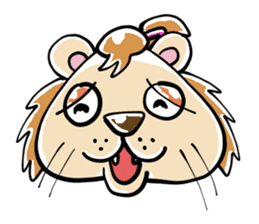 samu-lion sticker #191960