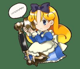 Small Alice sticker #192626