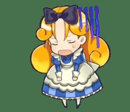 Small Alice sticker #192632