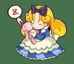 Small Alice sticker #192633