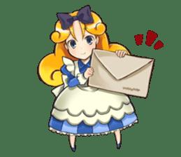Small Alice sticker #192635