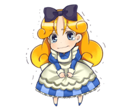 Small Alice sticker #192646