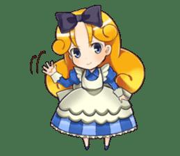 Small Alice sticker #192649