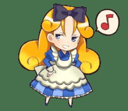 Small Alice sticker #192652