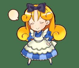Small Alice sticker #192656