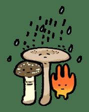 poison mushroom KAENTAKE-KUN sticker #192868