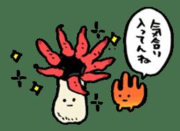 poison mushroom KAENTAKE-KUN sticker #192885