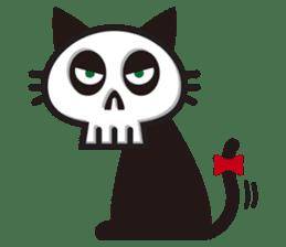 SkullCat sticker #193265