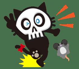 SkullCat sticker #193275